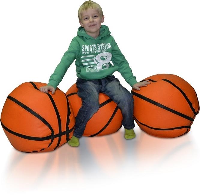 Sedací vak Basketbalový Míč L