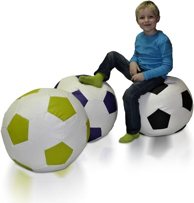 Sedací vak Fotbalový Míč L