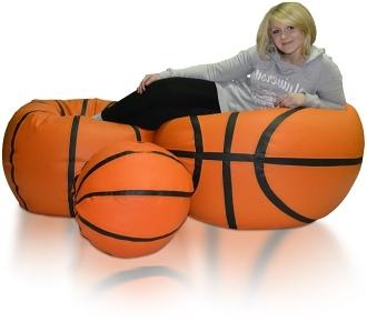 Sedací vak Basketbalový Míč sestava XXXXL