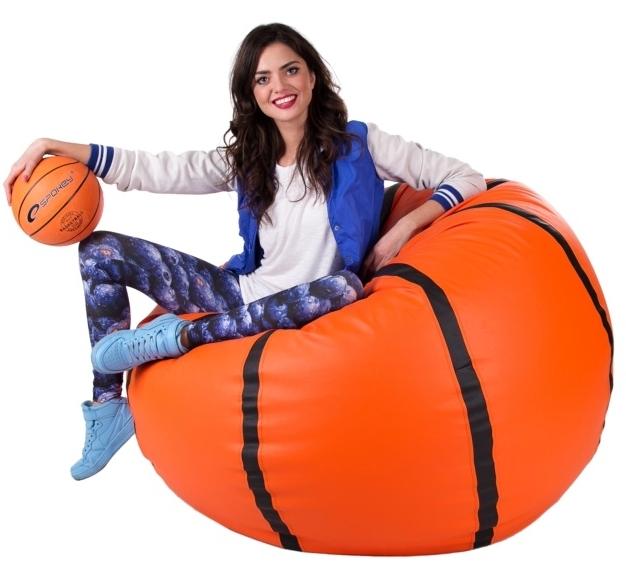 Sedací vak Basketbalový Míč XXXL Relax
