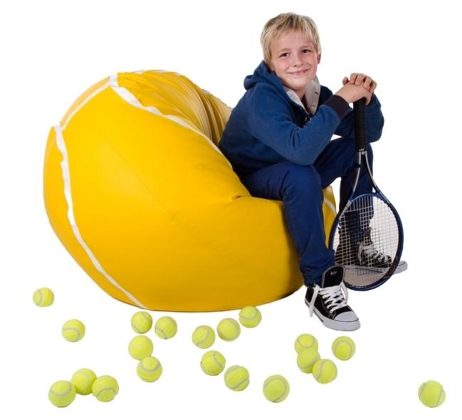 Sedací vak Tenis Míč XXL Relax