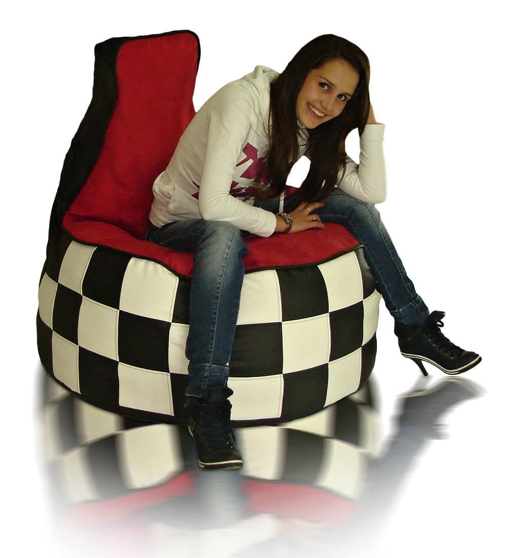 Sedací vak Křeslo Racing F1 XXXL Relax