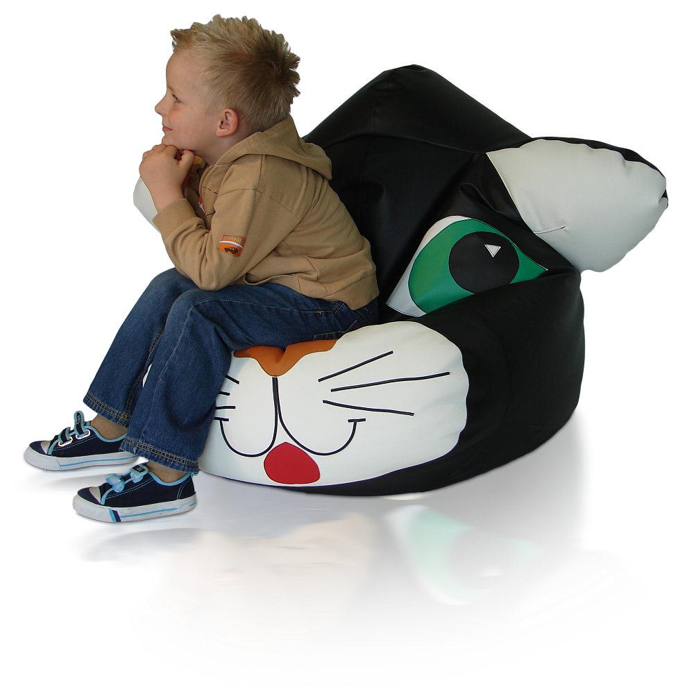 Dětský sedací vak Kočička Relax