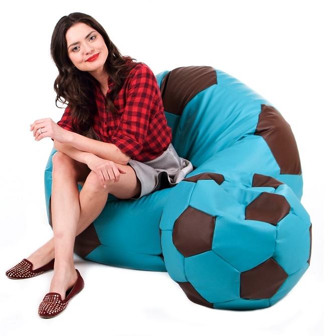 Sedací vak Fotbalový Míč XXXL sestava Relax A