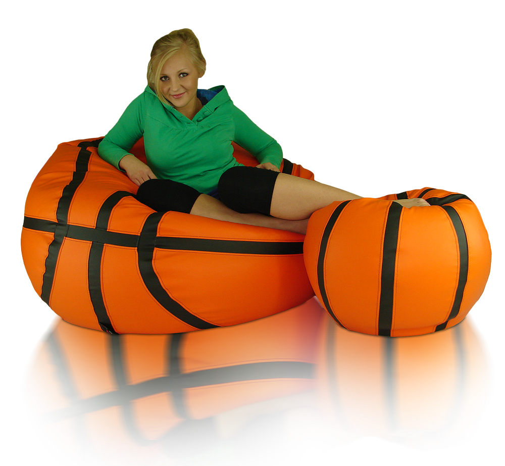 Sedací vak Míč Basketbal XXXL sestava Relax