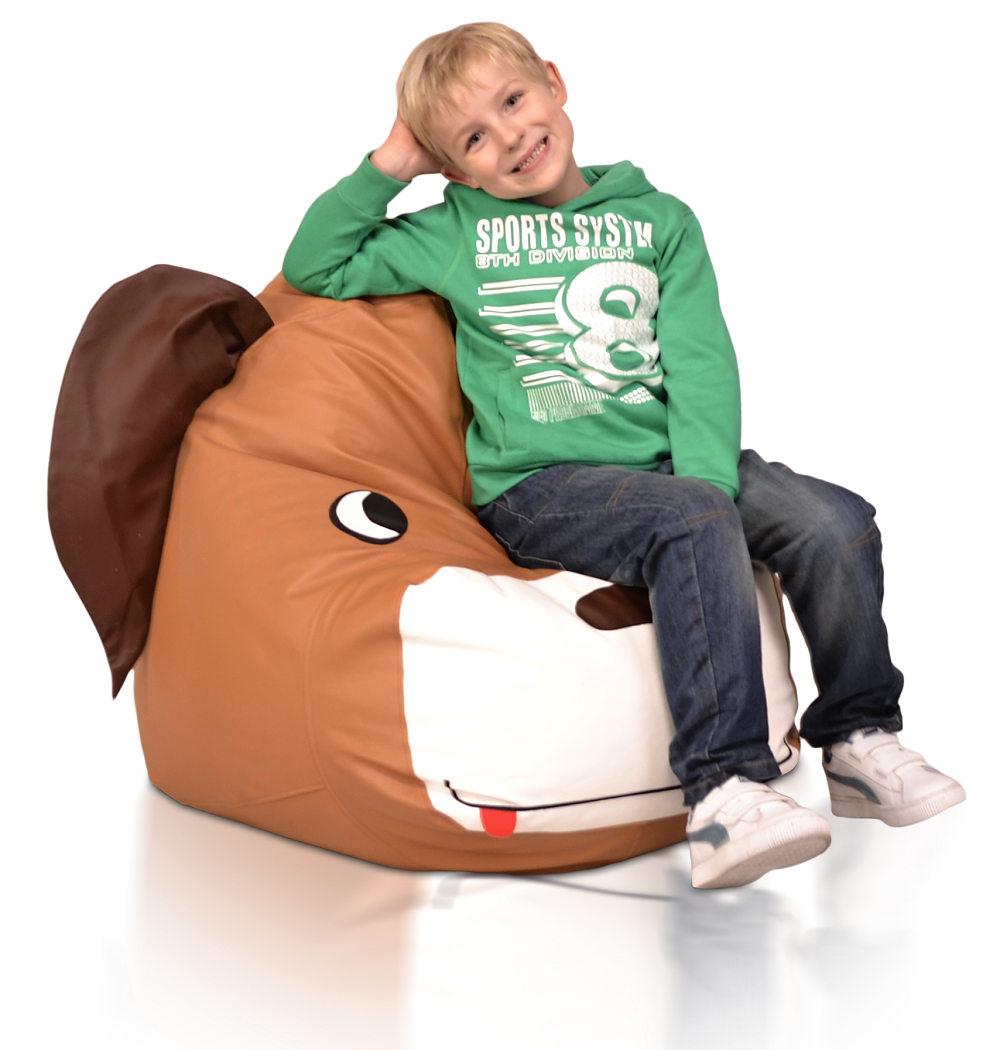 Dětský sedací vak Pejsek Relax