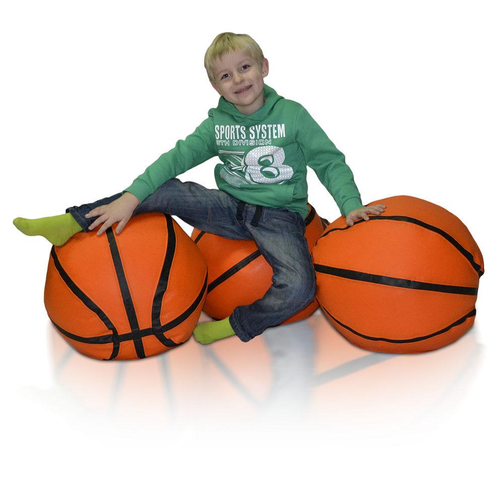 Sedací vak Basketbalový Míč L Relax