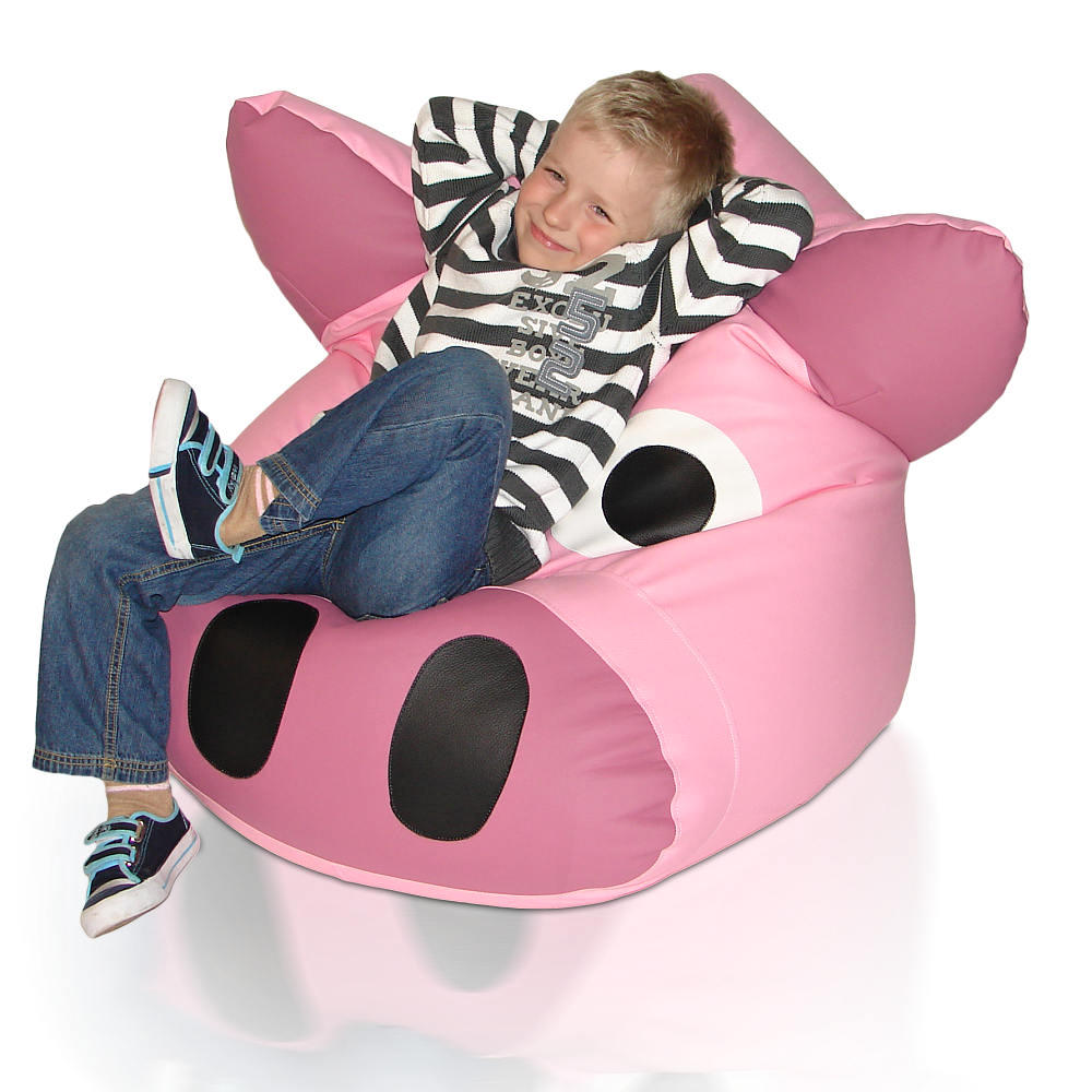 Dětský sedací vak Prasátko Relax
