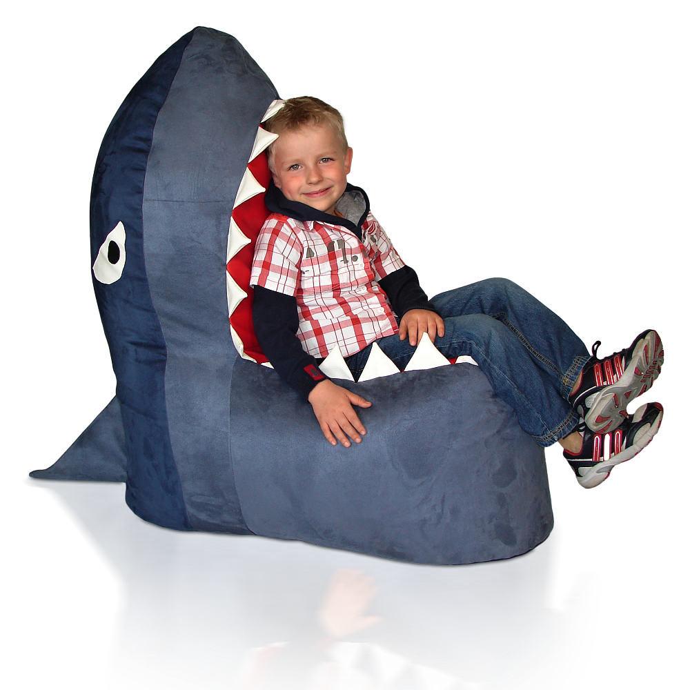 Dětský sedací vak Žralok Relax