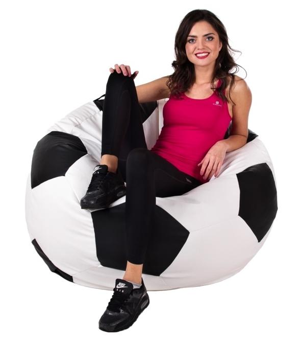 Sedací vak Fotbalový Míč XXXL Relax