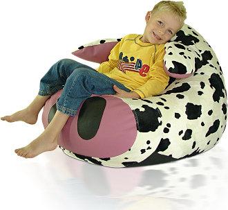 Dětský sedací vak Kravička
