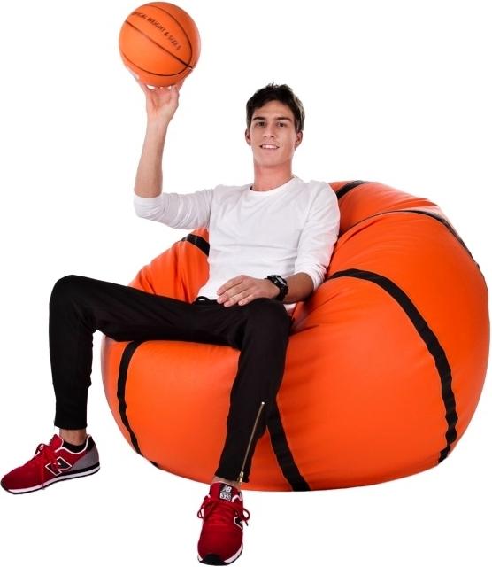 Sedací vak Basketbalový Míč XXL